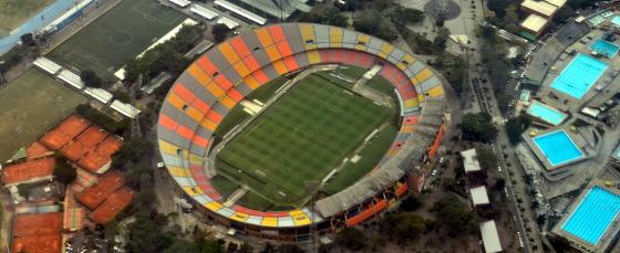 Estádio Atanasio Girardot, em Medellín