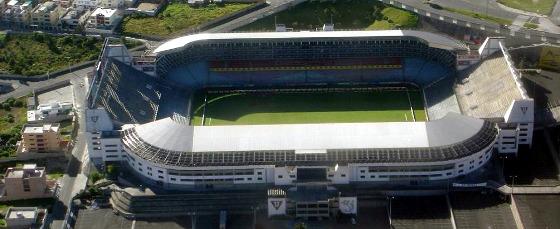 Estádio Casablanca, em Quito