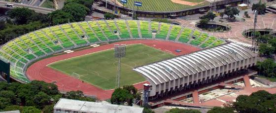 Estádio Olímpico, em Caracas