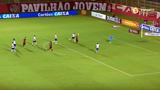 Copa do Nordeste 2017, semifinal: Vitória 2x1 Bahia. Imagem: Esporte Interativo/reprodução