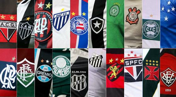 Os clubes da Série A de 2017