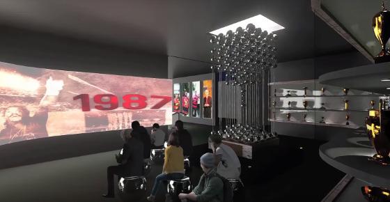 Projeto do Museu do Sport. Crédito: TV Sport (youtube)/reprodução