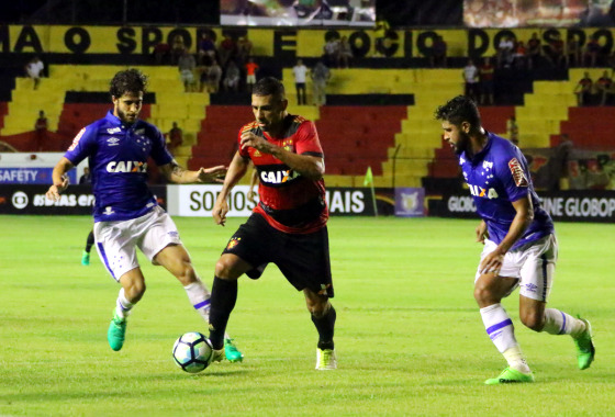 Série A 2017, 2ª rodada: Sport 1 x 1 Cruzeiro. Foto: Williams Aguiar/Sport Club do Recife