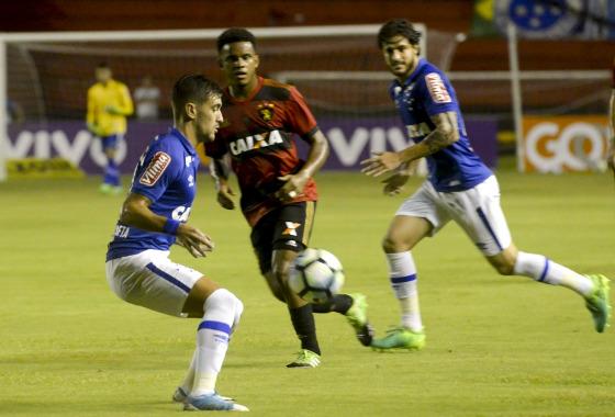 Série A 2017, 2ª rodada: Sport 1 x 1 Cruzeiro. Foto: Léo Caldas/Cruzeiro