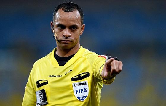 Wilton Sampaio, árbitro do quadro da Fifa. Crédito: Associação Nacional de Árbitros de Futebol (anaf.com.br)