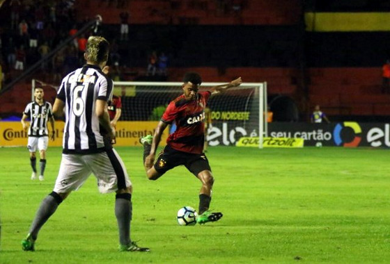 Copa do Brasil 2017, oitavas de final: Sport 1x1 Botafogo. Foto: Williams Aguiar/Sport Club do Recife