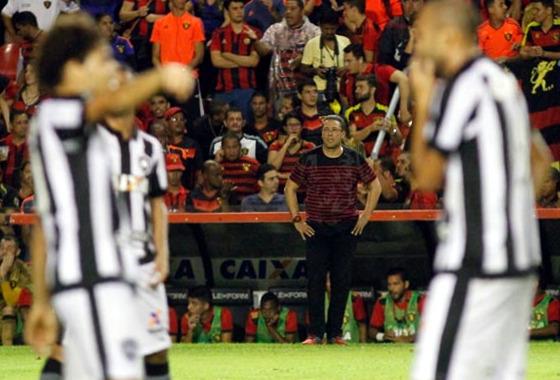 Copa do Brasil 2017, oitavas de final: Sport 1x1 Botafogo. Foto: Ricardo Fernandes/DP