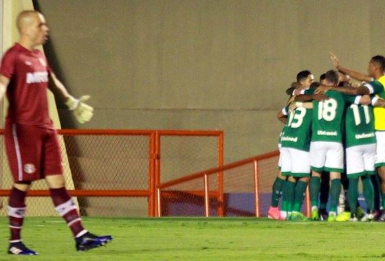 Série B 2017, 5ª rodada: Goiás 2x1 Santa Cruz. Foto: Goiás/facebook (@goiasoficial)