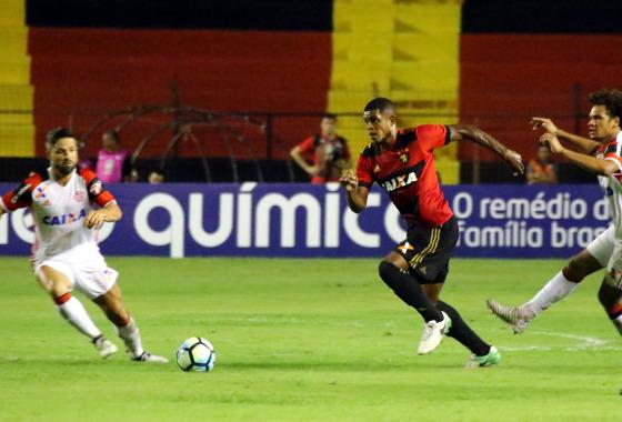 Série A 2017, 5ª rodada: Sport 2 x 0 Flamengo. Foto: Williams Aguiar/Sport Club do Recife