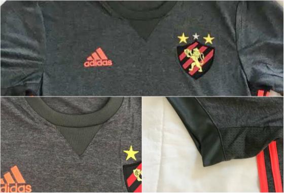 O 2º uniforme do Sport do Sport para a temporada 2017/2018