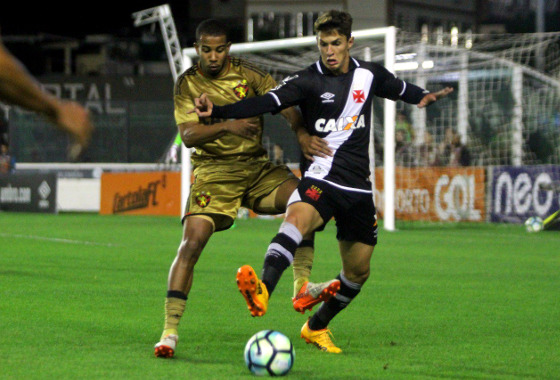 Série A 2017, 6ª rodada: Vasco x Sport. Foto: Vasco/twitter (@vascodagama)