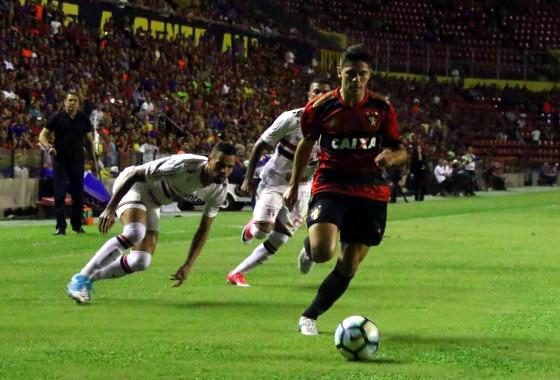 Série A 2017, 7ª rodada: Sport 0 x 0 São Paulo. Foto: Williams Aguiar/Sport Club do Recife