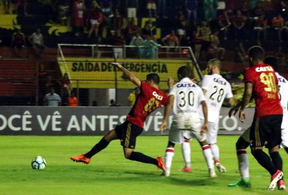 Série A 2017, 8ª rodada: Sport 1 x 3 Vitória. Foto: Williams Aguiar/Sport Club do Recife