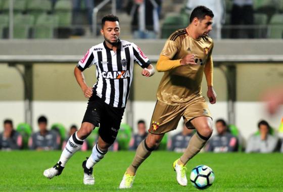 Série A 2017, 9ª rodada: Atlético-MG 2 x 2 Sport. Foto: Ramon Lisboa/EM/D.A Press