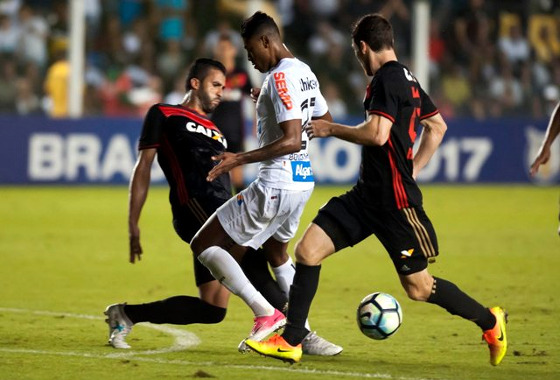 Série A 2017, 10ª rodada: Santos 0 x 1 Sport. Foto:  Ivan Storti/Santos FC