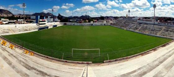 Estádio Cornélio de Barros em junho de 2017. Foto: Salgueiro/facebook (@soucarcara)
