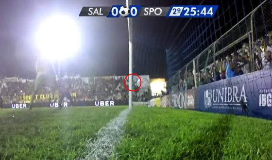 Pernambucano 2017, final: Salgueiro 0 x 1 Sport. Foto: Rede Globo/reprodução