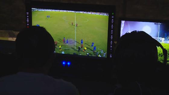 O trabalho do Árbitro de Vídeo no Cornélio de Barros. Foto: CBF/youtube