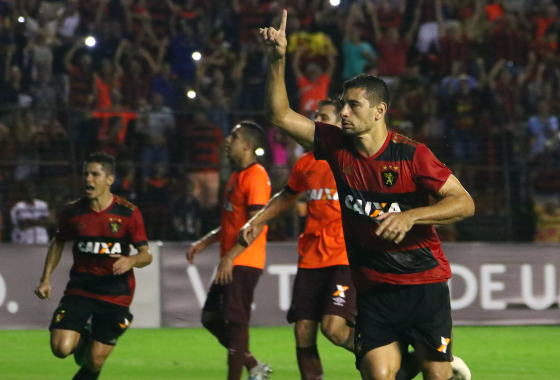 Série A 2017, 11ª rodada: Sport 1 x 0 Atlético-PR. Foto: Williams Aguiar/Sport Club do Recife