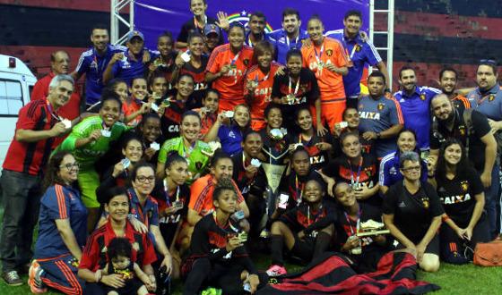 Pernambucano Feminino 2017, final: Sport 1 x 1 Vitória. Foto: Anderson Freire/Sport Club do Recife