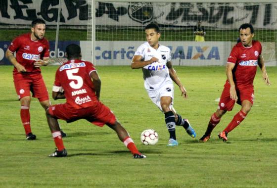 Série B 2017, 12ª rodada: ABC x Náutico. Foto: Andrei Torres/ABC FC