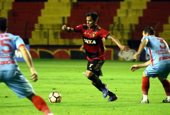 Sul-Americana 2017, 2ª fase: Sport 2 x 0 Arsenal (ARG). Foto: Williams Aguiar/Sport Club do Recife