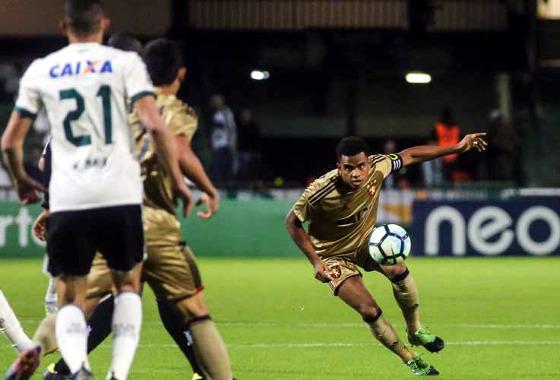 Série A 2017, 12ª rodada: Coritiba 0 x 3 Sport. Foto: Joka Madruga/Futura Press/Estadão conteúdo