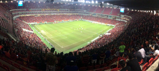 Série A 2017, 13ª rodada: Sport 3 x 0 Chapecoense. Foto: Giovanna Batista/twitter (@giibatistaa)