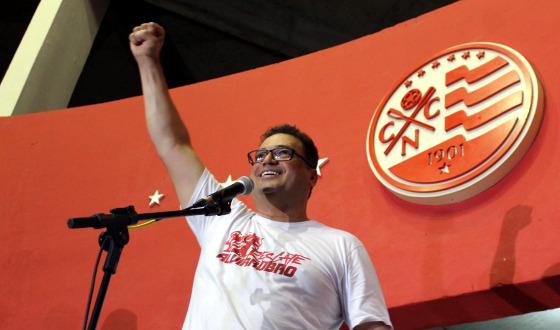 Edno Melo eleito presidente do Náutico para o biênio 2018/2019. Foto: Náutico/twitter (@nauticope)