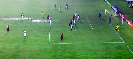 Série A 2017, 15ª rodada: Sport 4 x 0 Atlético-GO. Foto: Premiere/reprodução