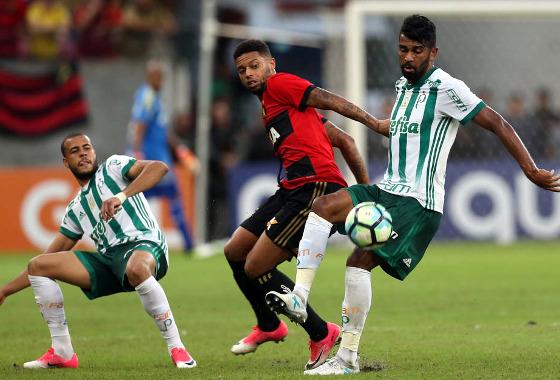 Série A 2017, 16ª rodada: Sport 0 x 2 Palmeiras. Foto: Cesar Greco/Ag Palmeiras/Divulgação