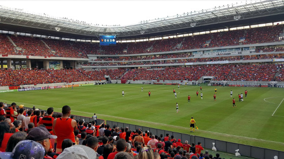 Série A 2017, 16ª rodada: Sport 0 x 2 Palmeiras. Foto: Cassio Zirpoli/DP