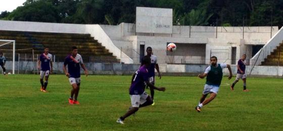 Santa treinando no Estádio Ademir Cunha, 22/06/2015 . Foto: Santa Cruz/twitter
