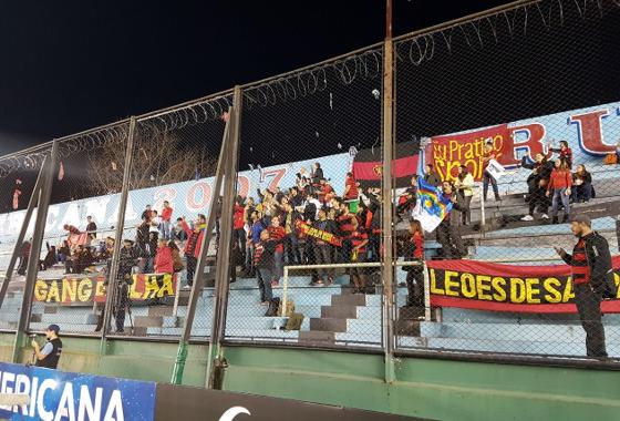 Sul-Americana 2017, 2ª fase: Arsenal (ARG) 2 x 1 Sport. Foto: Sport/twitter (@sportrecife)