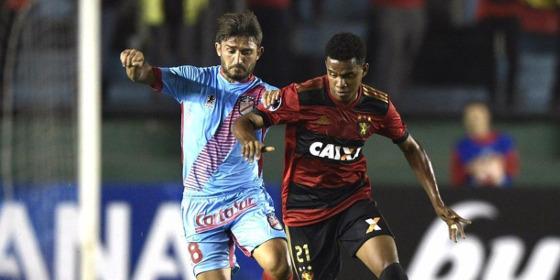 Sul-Americana 2017, 2ª fase: Arsenal (ARG) 2 x 1 Sport. Foto: Juan Mabromata/APF Photo