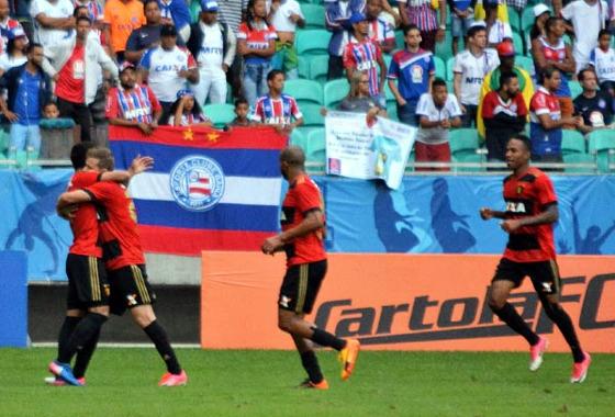 Série A 2017, 17ª rodada: Bahia 1 x 3 Sport. Foto: Marcelo Malaquias/Framephoto/Estadão conteúdo