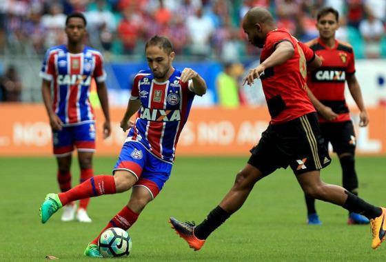 Série A 2017, 17ª rodada: Bahia 1 x 3 Sport. Foto: Felipe Oliveira/EC Bahia