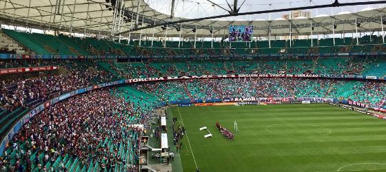 Série A 2017, 17ª rodada: Bahia 1 x 3 Sport. Foto: Bahia/twitter (@ECBahia)