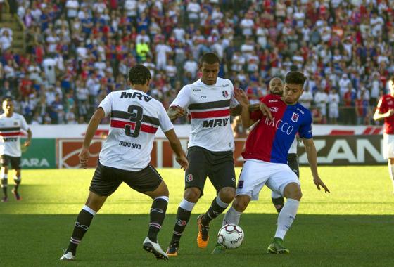 Série B 2017, 17ª rodada: Paraná 4 x 0 Santa Cruz. Foto: Geraldo Bubniak/AGB/Estadão Conteúdo