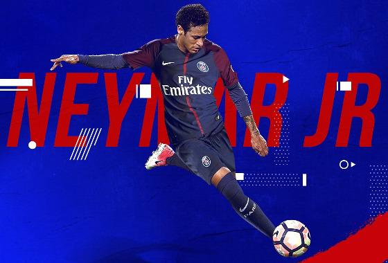 Neymar no PSG...  Crédito: PSG/twitter (@PSG_inside)