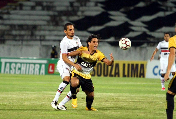 Série B 2017, 20ª rodada: Santa Cruz 1 x 2 Criciúma. Foto: Peu Ricardo/DP