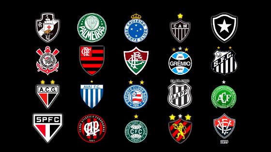 Clubes brasileiros licenciados no Pro Evolution Soccer 2018