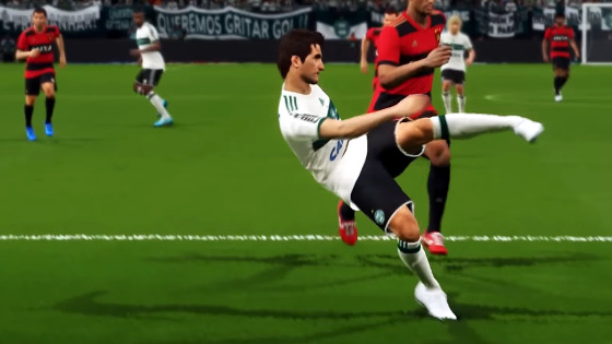 Sport no game Pro Evolution Soccer 2018. Crédito: officialpes/youtube