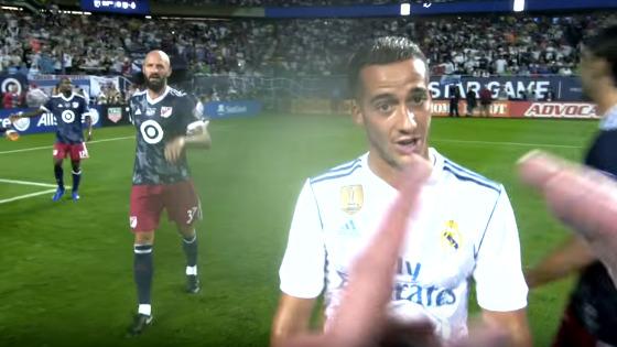 Vídeo gravado pelo árbitro da MLS