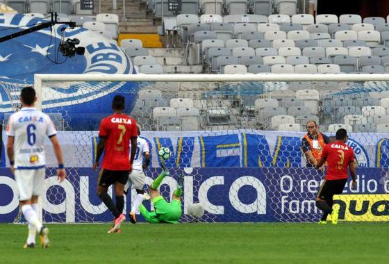 Série A 2017, 21ª rodada: Cruzeiro x Sport. Foto: Edésio Ferreira/EM/D.A Press