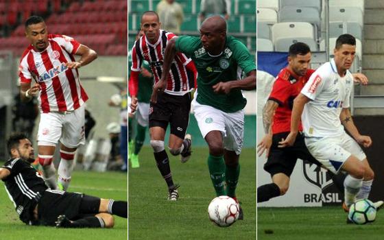 Fotos: Luciano Claudino/Código 19/Estadão conteúdo (Brinco de Ouro), Paulo Paiva/DP (Arena) e Edésio Ferreira/EM/D. Press (Mineirão)