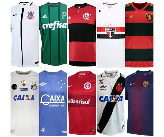 O ranking de venda de camisas da Netshoes. Arte  Cassio Zirpoli DP e822eb1e50d80