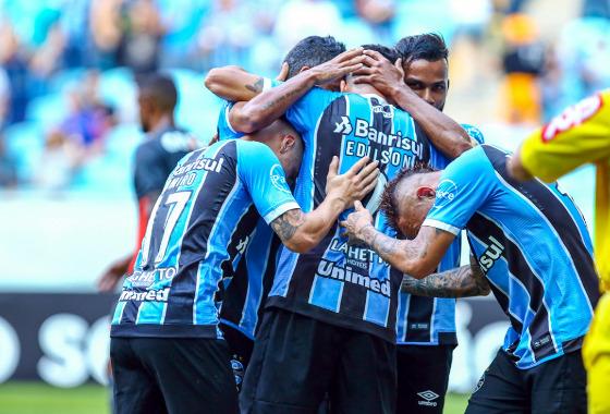 Série A 2017, 22ª rodada: Grêmio x Sport. Foto: Lucas Uebel/Grêmio FBPA