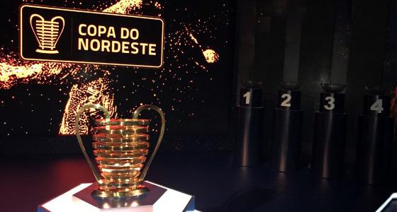 O sorteio da Copa do Nordeste de 2018. Foto: Douglas Lunardi/CBF