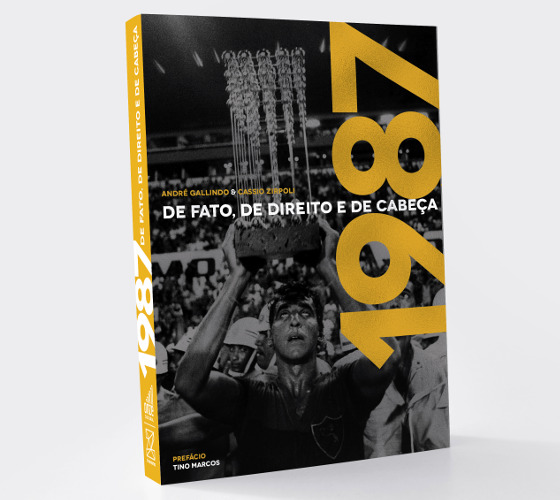 """A capa do livro """"1987 - De fato, de direito e de cabeça"""". Crédito: divulgação"""